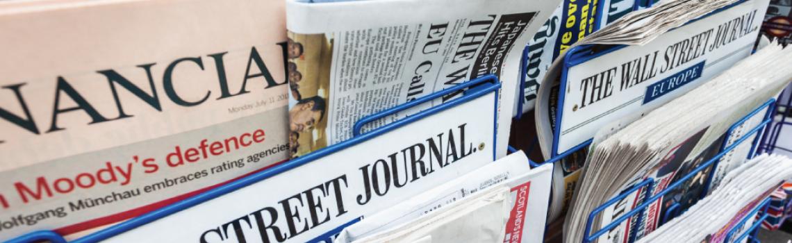 newspaper headlines