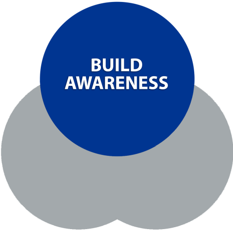 Build awareness