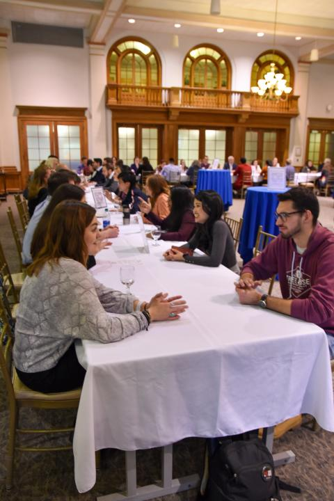 Image of UNH's No Stress Networking Night with Career and Professional Success and Alumni Relations