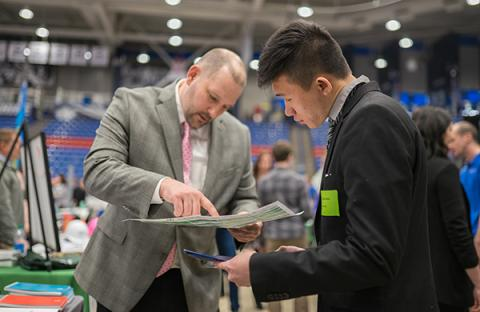 Image of UNH's Career and Internship Fair