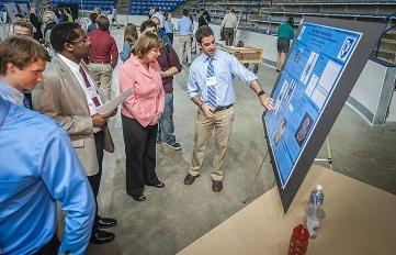 Image of UNH's Undergrad Research Conference, which is a perfect way to get involved on campus