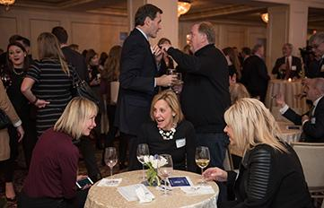 Image of Alumni Networking at a University of New Hampshire event