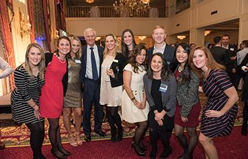Image of University of New Hampshire Alumni at a networking event