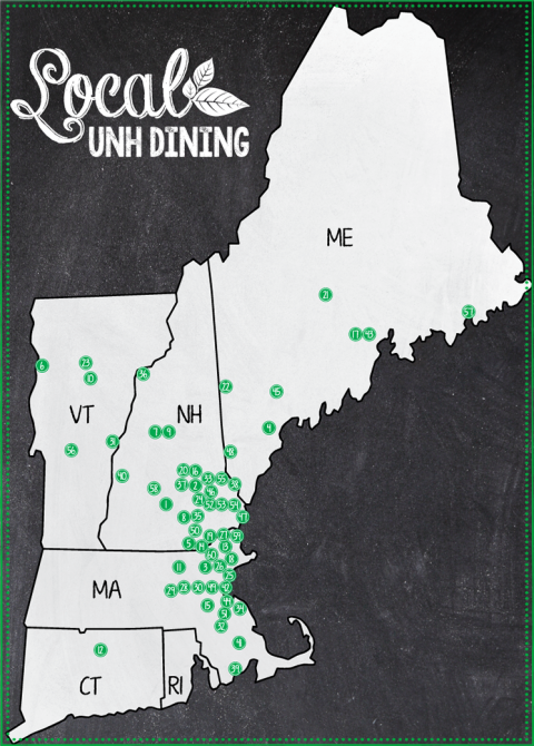 local dining map