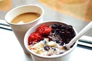 Photo of Oatmeal and Coffee
