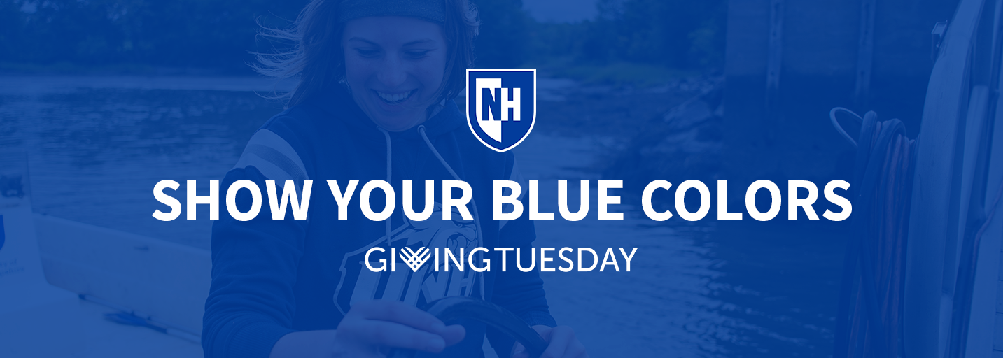 UNH graphic promoting Giving Tuesday 2017