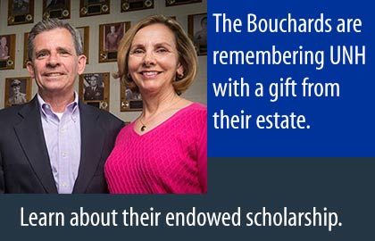 The Bouchards remembered UNH in their estate plan. Learn about their endowed scholarship