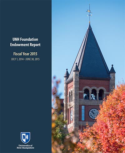 UNH FY15 Endowment Report