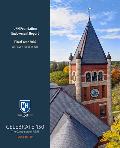 UNH FY16 Endowment Report