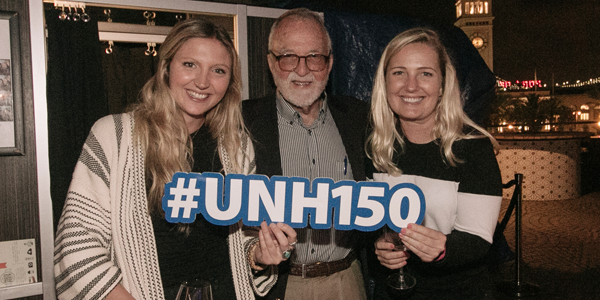 UNH alums at San Fran c-150 event.