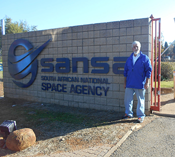 Prof. Henry visiting South African National Space Agency (SANSA)
