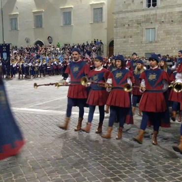 Mary Hammar's photo of La Quintana medieval festival in Ascoli Piceno, Italy