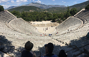 theatre at Epidaurus (Epidavros), Greece