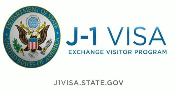 J-1 Visa Exchange Visitor Program logo