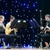 UNH students performing in China