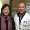 (l. to r.) Dr. Kim and Daehee Jung, MSW, Medical Social Worker at SNUH