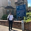 Professor Mahmud at the University of Oxford