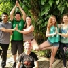 UNH Manchester biology and biotechnology students n Belize