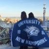 UNH students Kate Aiken '19 and Emily Jenkins '19 in Barcelona, Spain