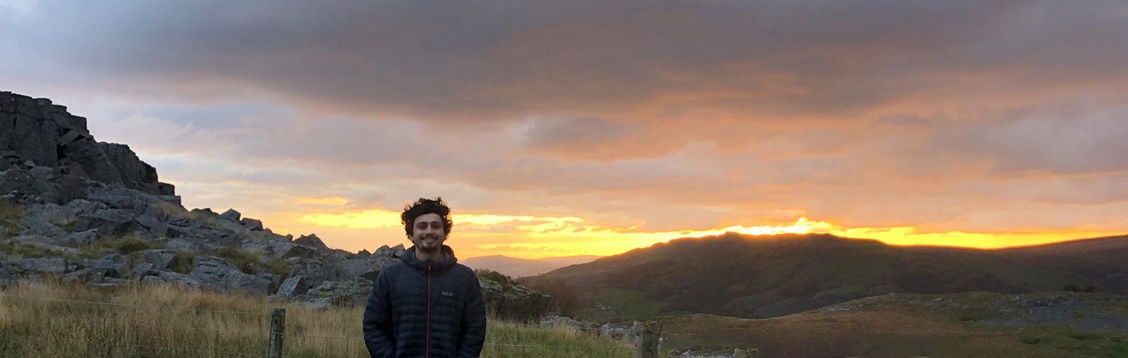 Kaan Cav '21 studying Physics at Cardiff University in Wales