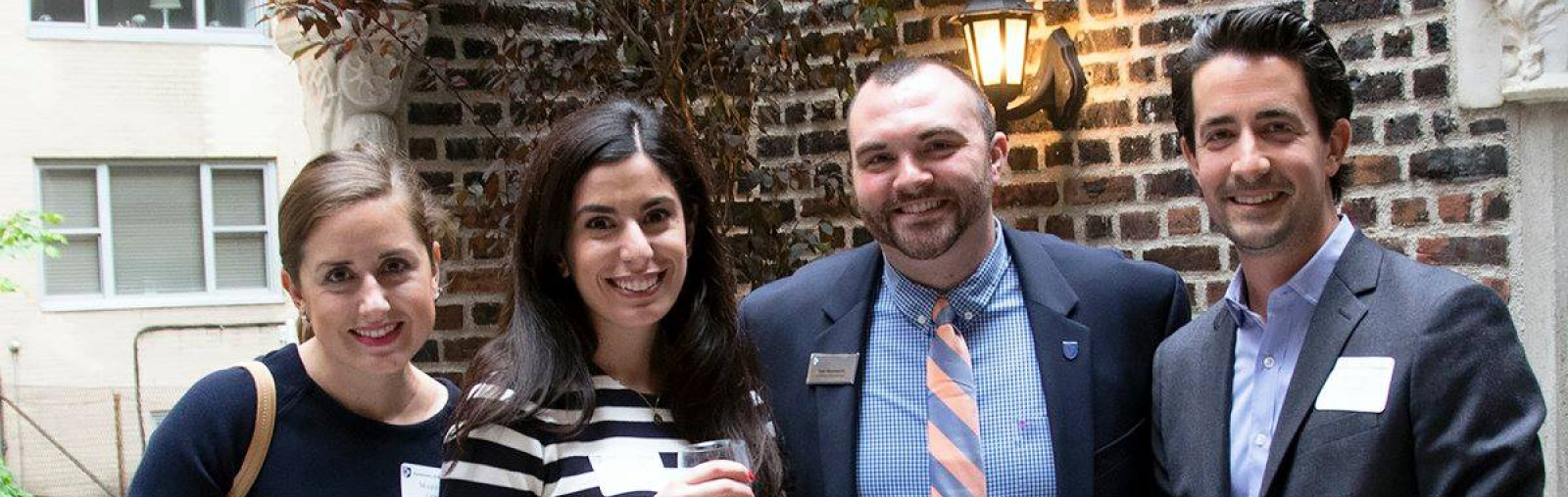 UNH alumni at international event in NYC, May 2016