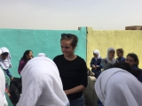 Madison Pierce on service learning and community engagement project in Amman, Jordan
