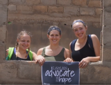 UNH nursing students with Global Partners in Hope in Togo