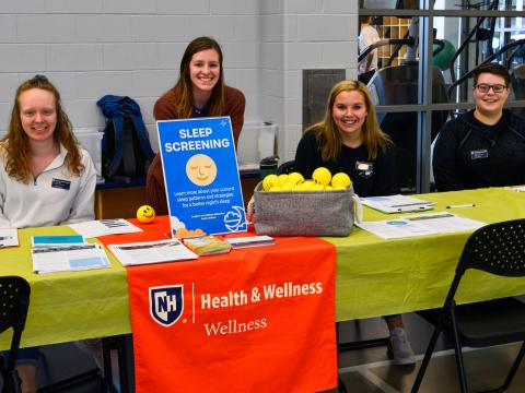 Wellness Ambassadors at the sleep expo