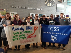 SHARPP Stepping Out Against Violence at UNH: RALLY&WALK!