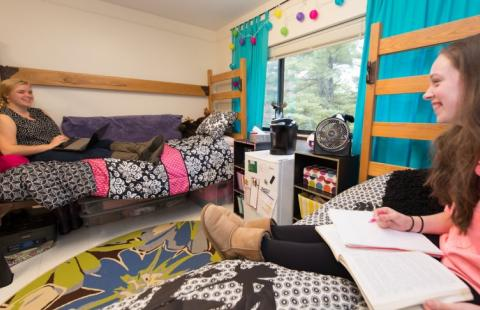 Hubbard Hall double room