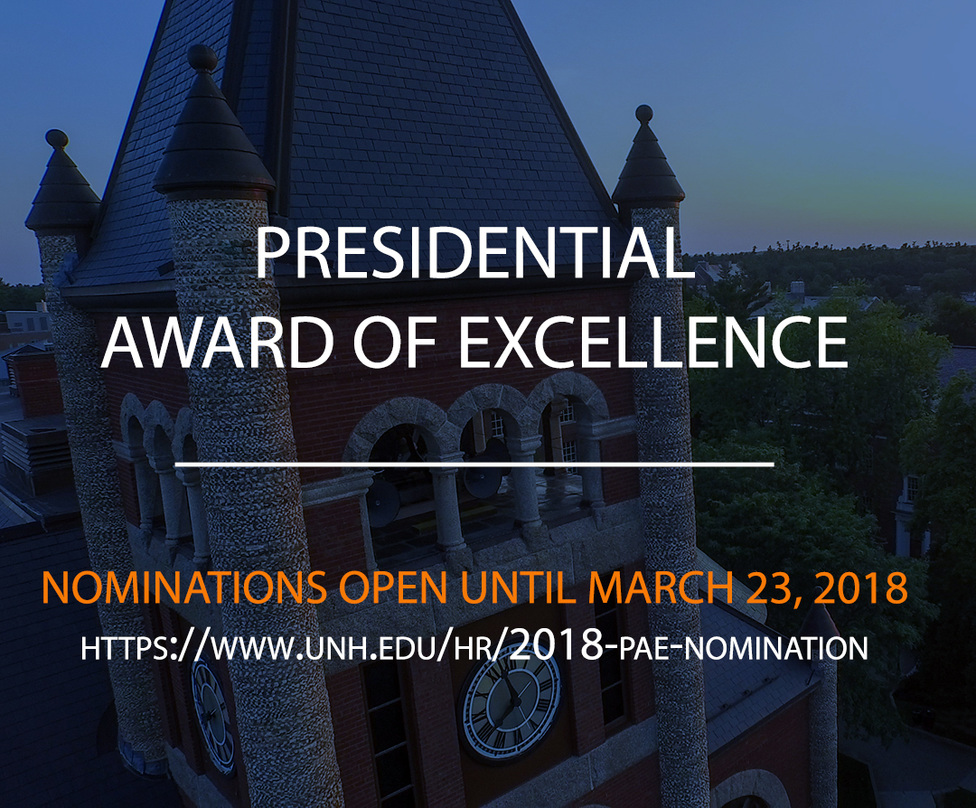 2018 PAE nomination info