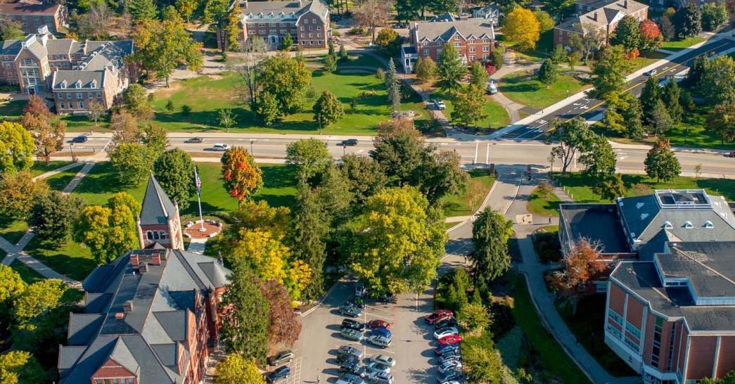 UNH Durham Campus aerial view