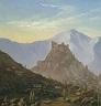 Mikhail Lermontov's painting of Tbilisi, Georgia
