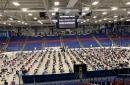 A photo of the New Hampshire House of Representatives at the Whittemore Center Arena on June 11, 2020