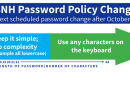 Summary of New USNH Password Policy