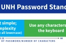 UNH Password Policy