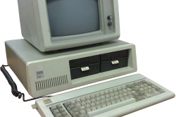 Photo of an IBM PC 5150 Computer