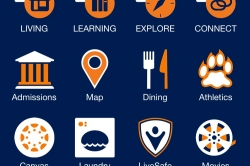 UNH mobile application image