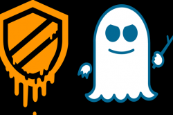 Logos for Meltdown and Spectre