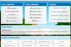Zoom web conferencing image