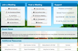 Zoom web conferencing image