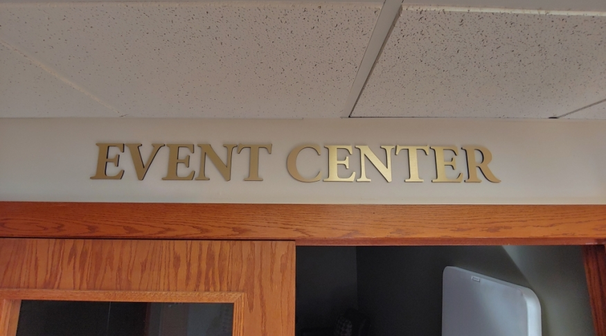 Event Center Sign
