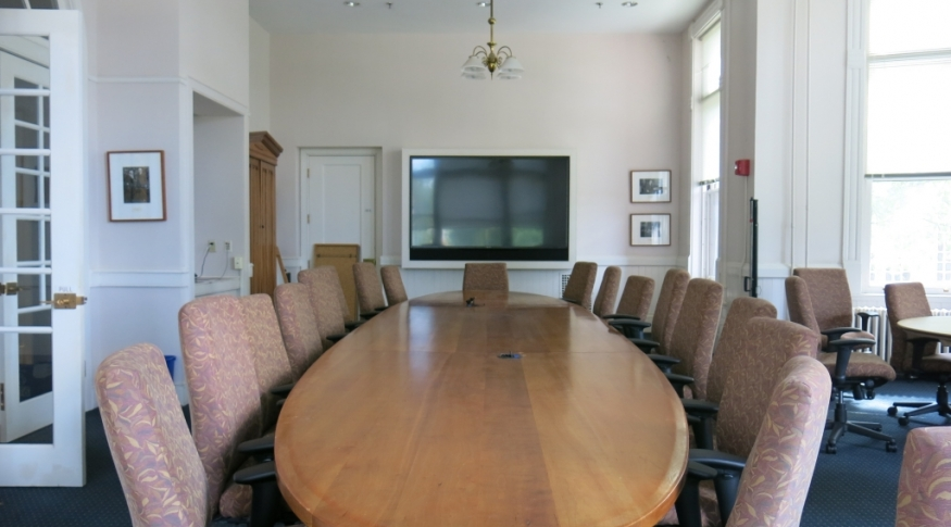 Thompson Hall Trustee Boardroom 122 Photo