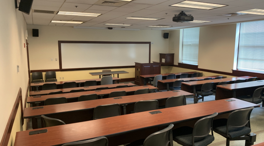 Murkland G17 lecture hall
