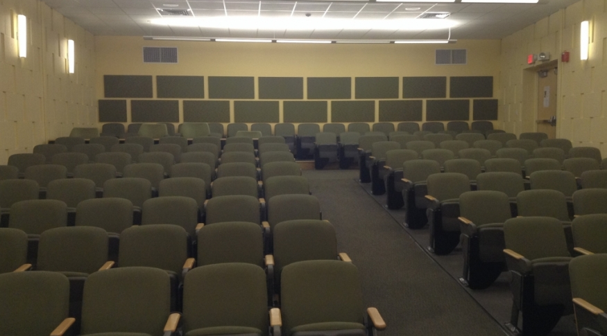Paul Creative Arts Center (PCAC) A218 Seating