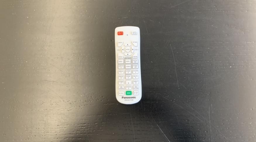 James 216 Projector Remote