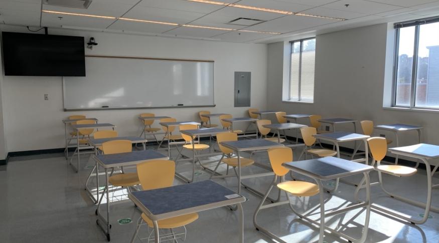 Kingsbury N334 Classroom Photo