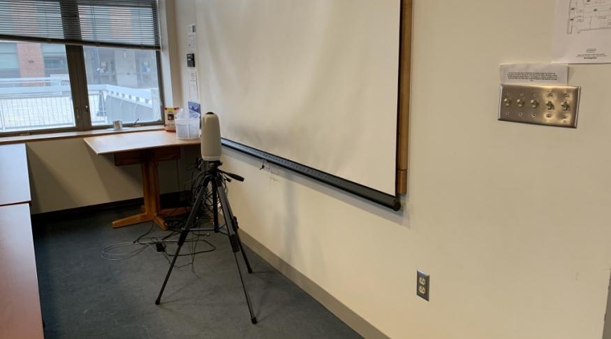 Rudman 110 Classroom Photo