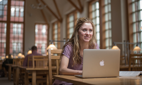 UNH Sudent Studies at Dimond Library