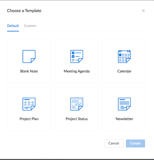 box notes template feature and desktop app information technology